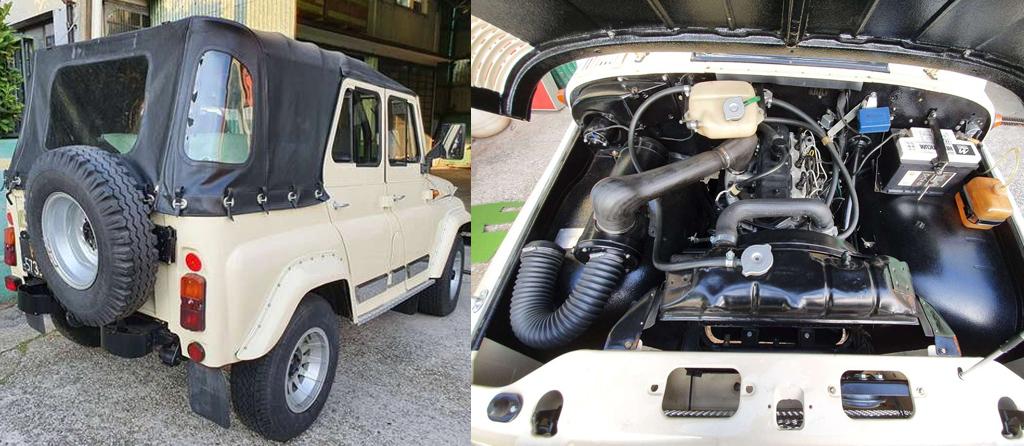 УАЗ-469, выпущенный в 1984 году