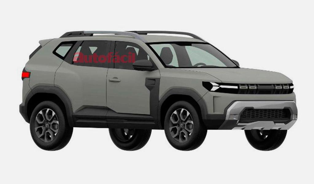 В Европе запатентовали новый кроссовер Dacia Bigster