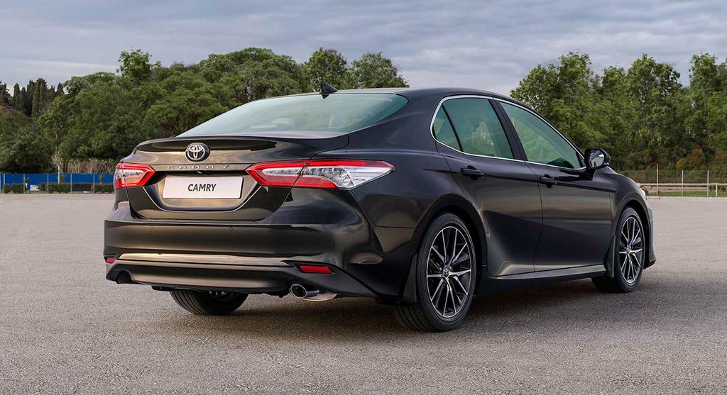 В России стартовало производство нового Toyota Camry