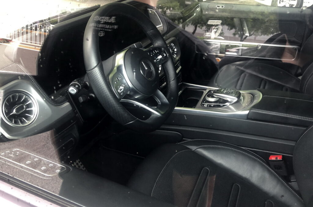 Салон Mercedes-Benz G-class