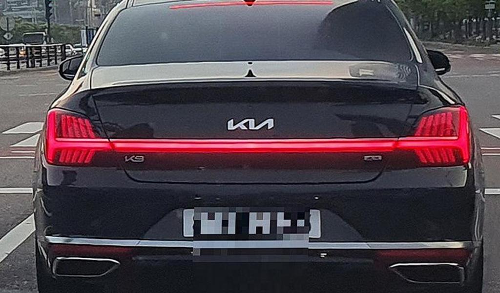 Обновленный Kia K9