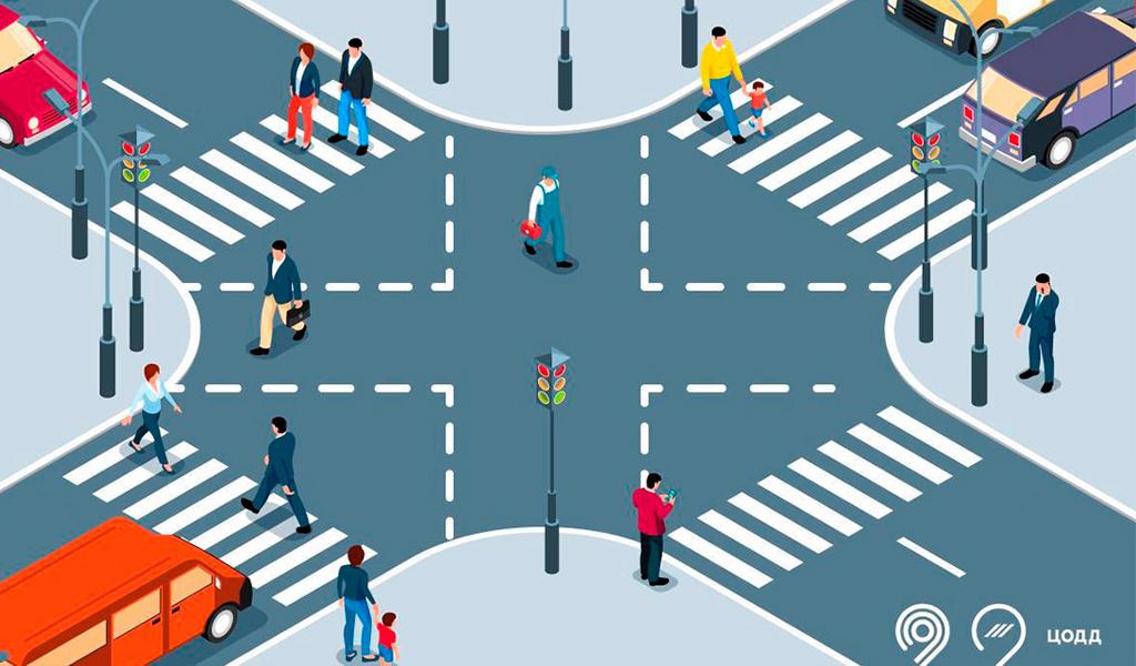 В Москве появятся пешеходные переходы нового формата