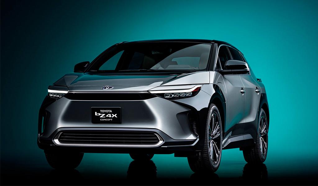 Toyota представила новый электрокроссовер bZ4X