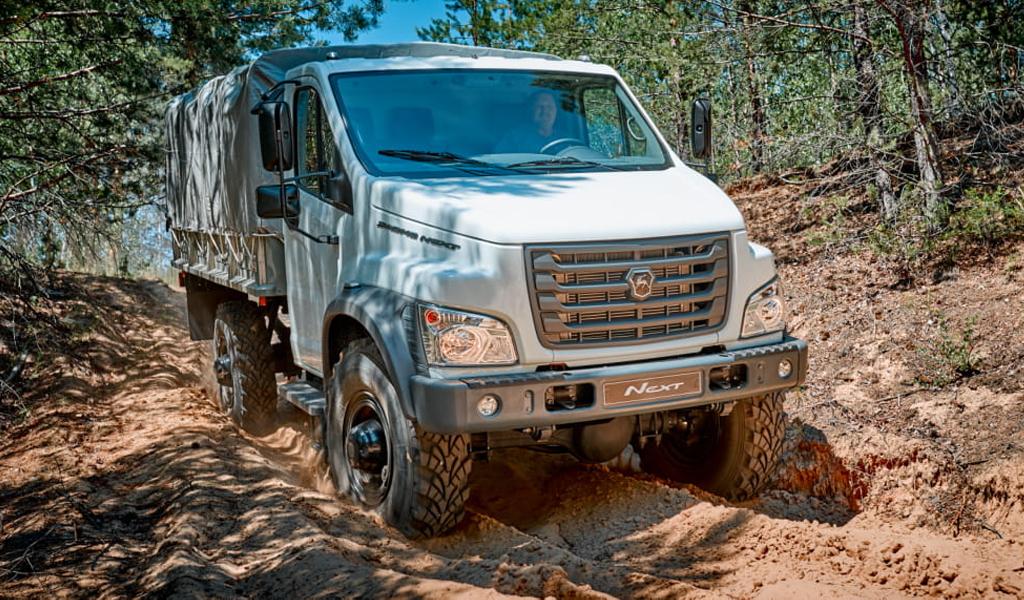 Грузовики ГАЗ Садко Next начали продавать в Австралии за 5,2 млн рублей