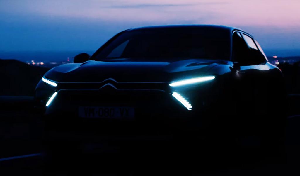 Новая модель Citroen