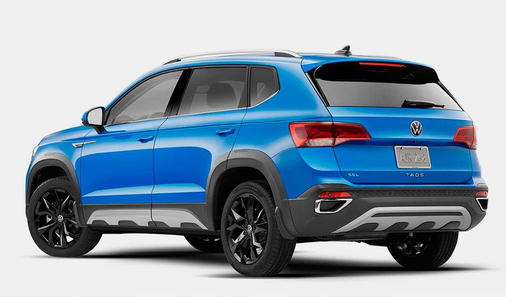 Volkswagen представил серийную версию внедорожной модификации Taos