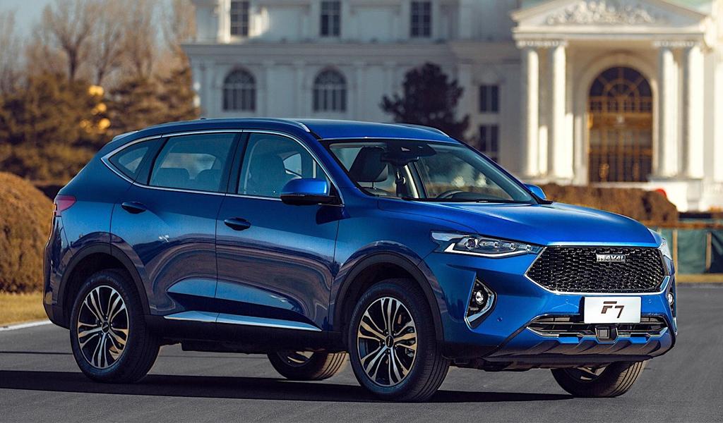 В России продолжают расти продажи китайских авто