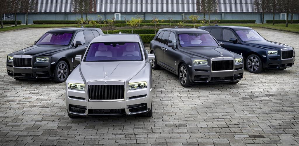 Rolls-Royce привез уникальную серию автомобилей «Spirit of Russia»