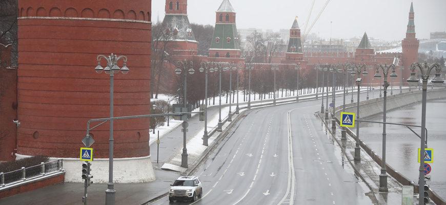 В Москве не стали запрещать выезжать на автомобиле