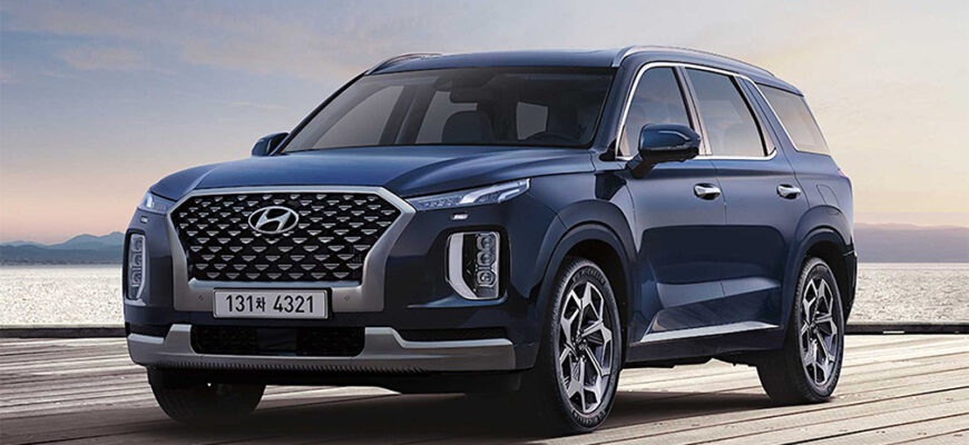 Кроссовер Hyundai Palisade стал богаче