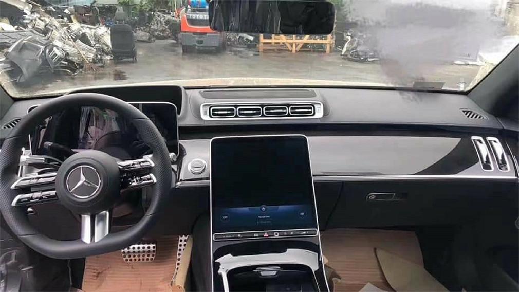 Mercedes-Benz S-Class W223 - вид салона