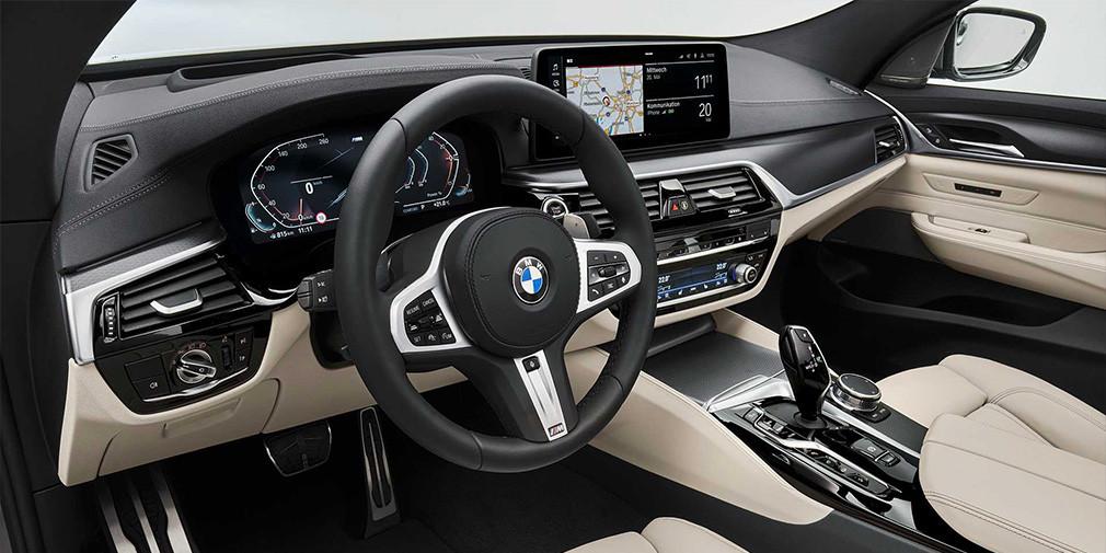 Салон BMW 6-Series GT