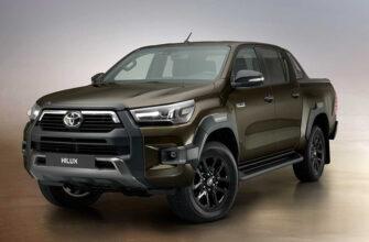 Toyota Hilux получил обновление
