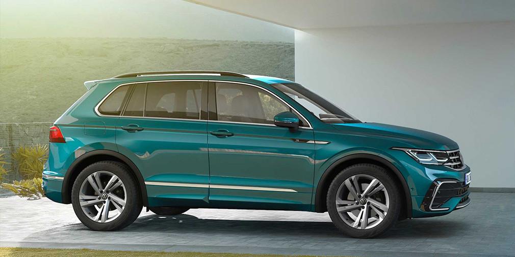 Новый Volkswagen Tiguan - встречаем