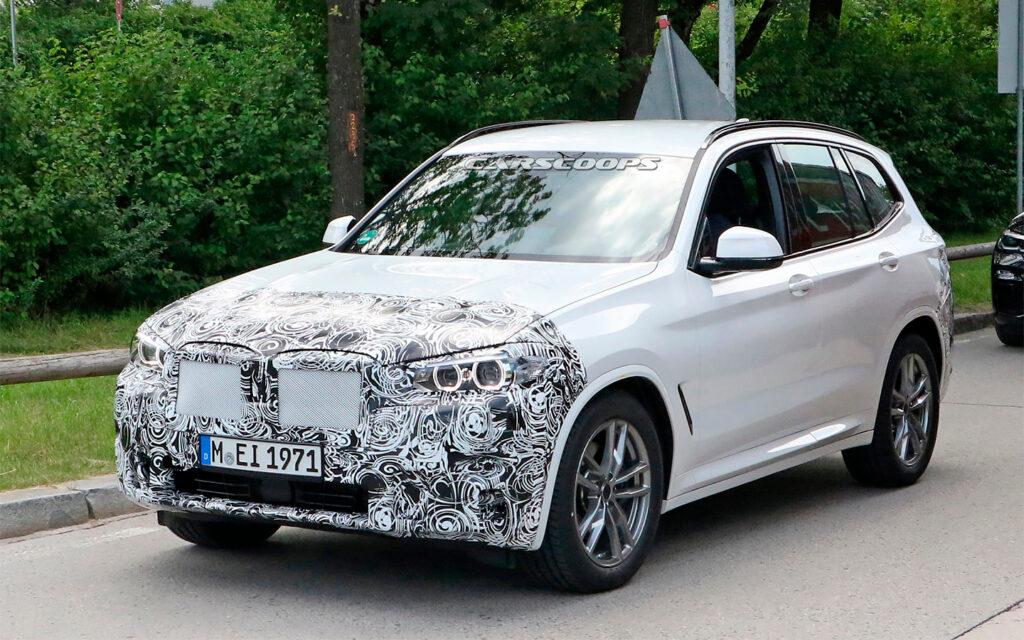 Обновленный BMW X3