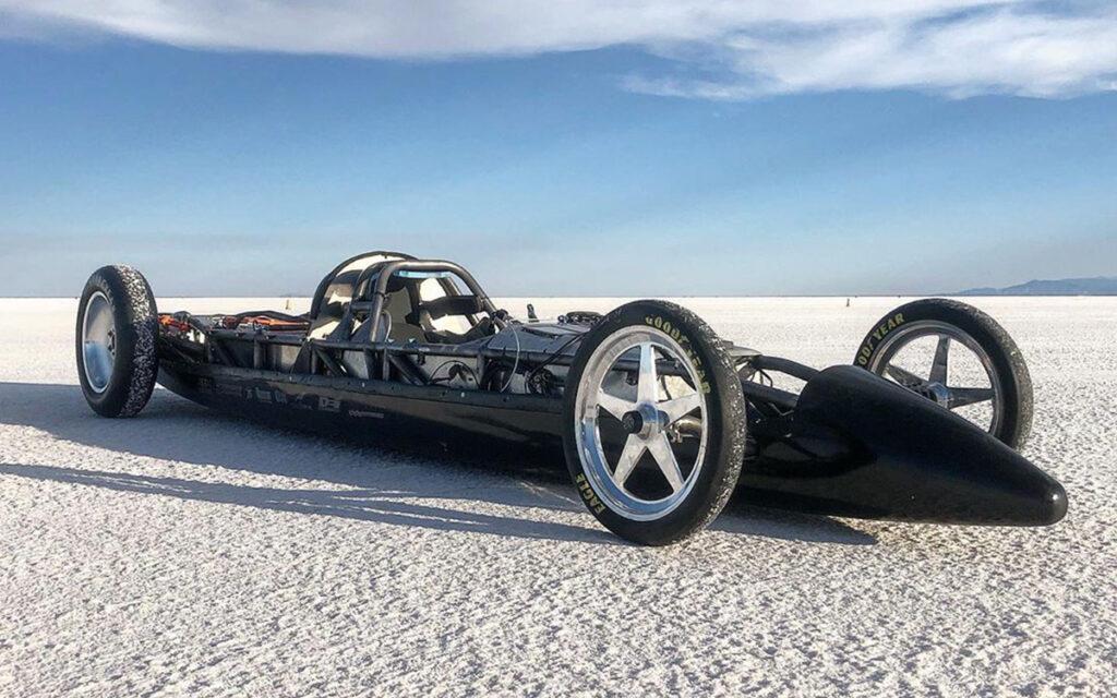 В Соединенных Штатах установлен новый скоростной рекорд среди электрических автомобилей