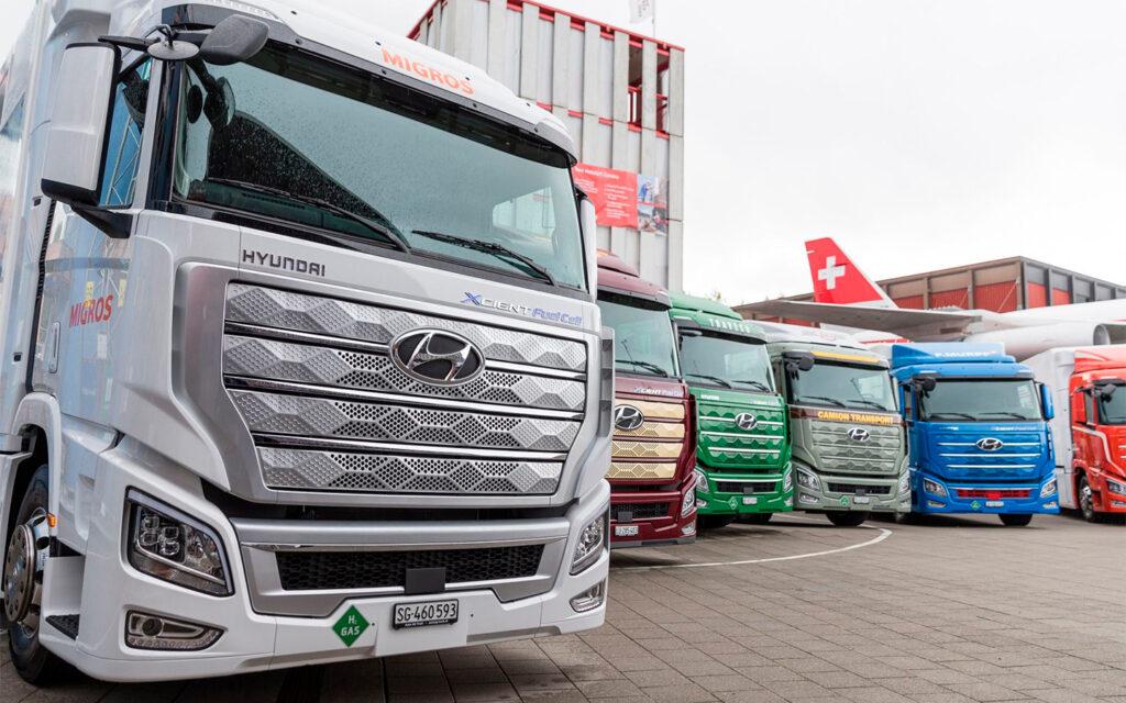 Разработкой водородных грузовиков также занимаются и другие компании