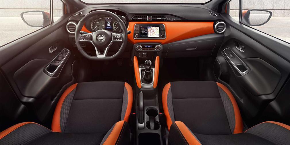 Салон Nissan Micra