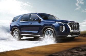 Стали известны рублевые цены на Hyundai Palisade