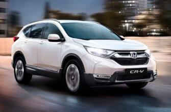 Модель Honda CR-V утратила традиционные двигатели ДВС