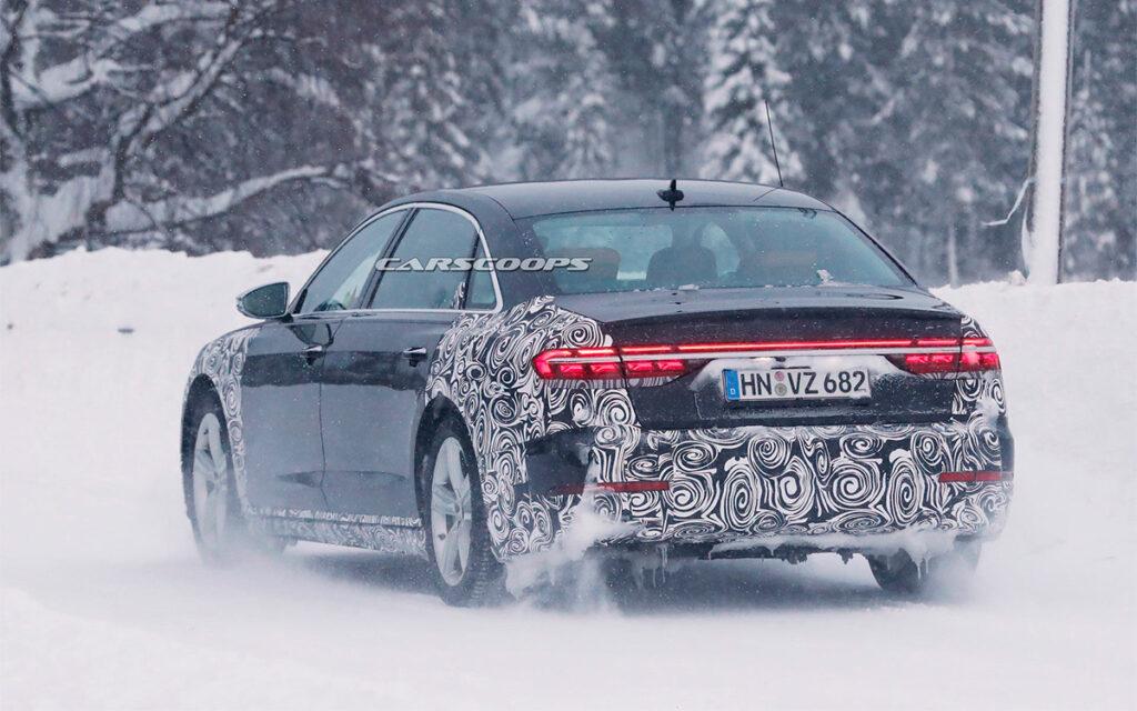 Технически можно сравнить эту комплектацию А8 с отдельной моделью Mercedes-Benz Maybach