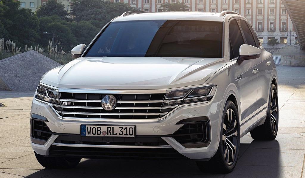 Volkswagen отзывает на российском рынке кроссоверы Touareg