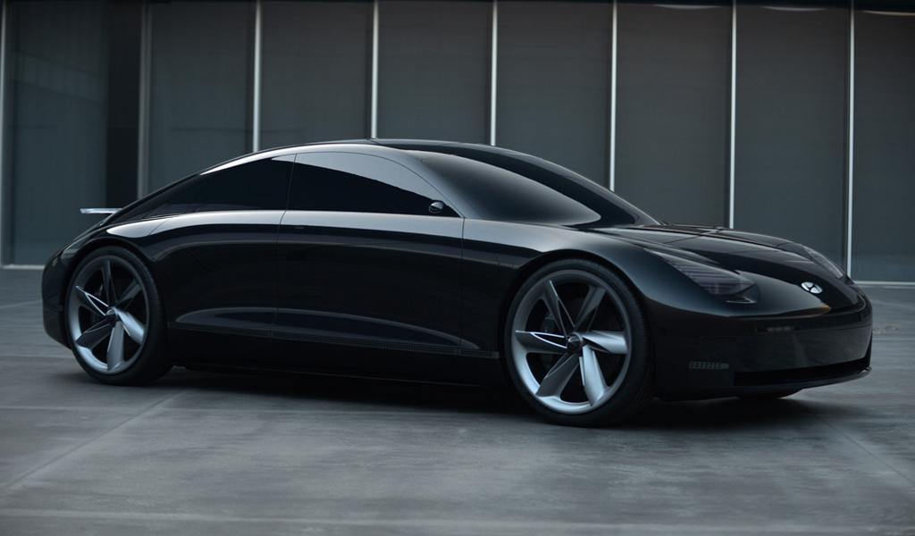 Hyundai готовится выпустить электрический седан Ioniq 6
