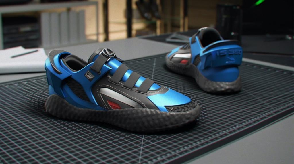Lexus кроссовки, созданные в честь нового седана IS (Фото)