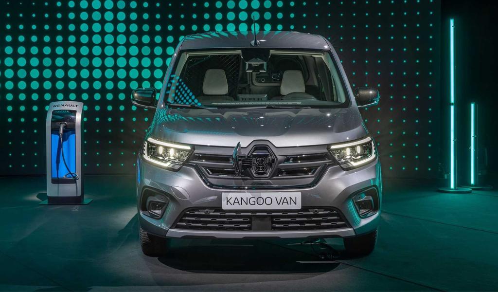 Renault показала новый электрический Kangoo с быстрой зарядкой