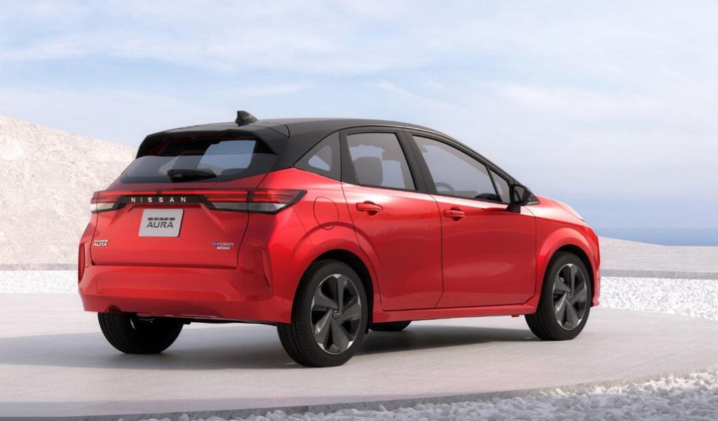 Nissan представил новую особую модификацию Note