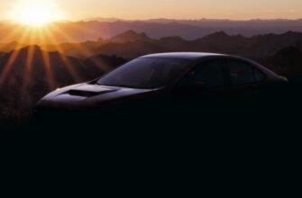 Subaru опубликовала фото с новым WRX