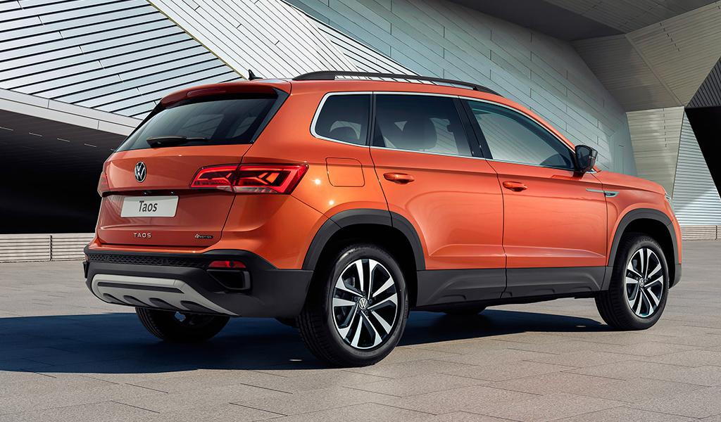 Volkswagen назвал российские цены на кроссовер Taos