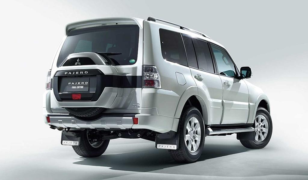 Mitsubishi снимает с производства Pajero, подготовлена последняя партия