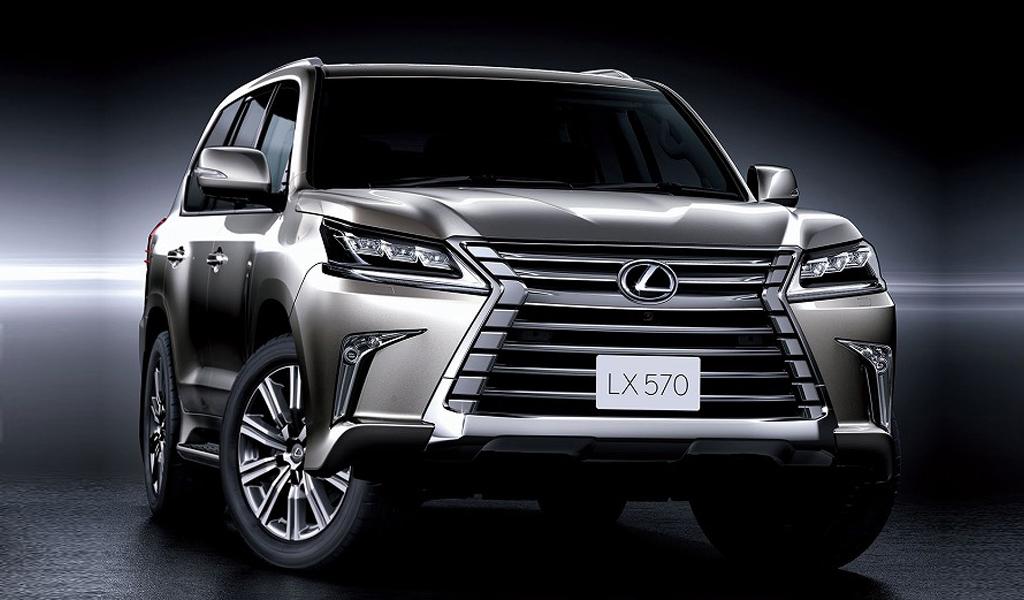 В этом году Lexus представит внедорожник LX нового поколения