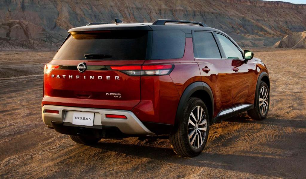 Обновленный Nissan Pathfinder