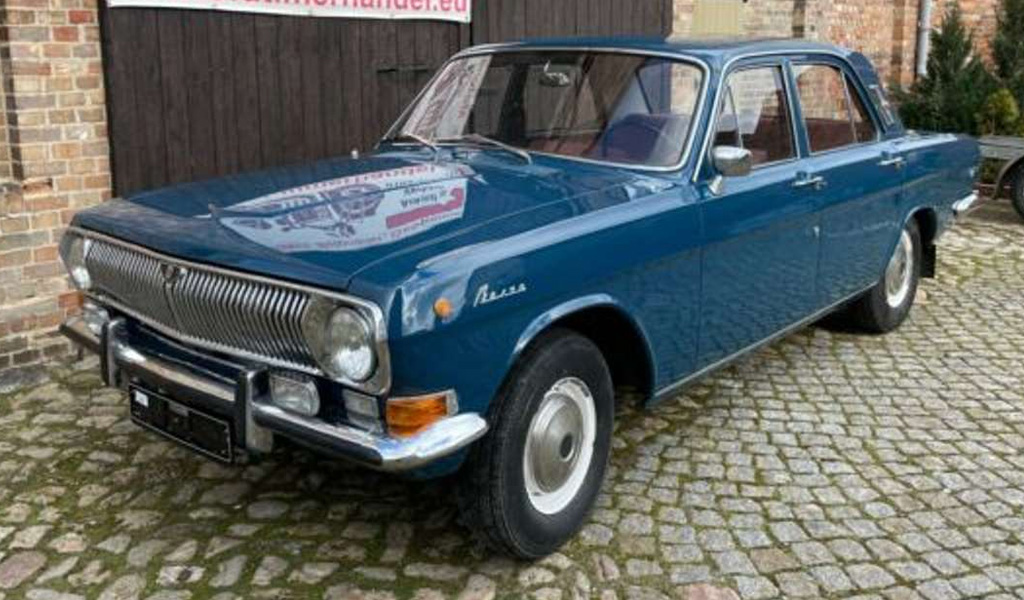 В Германии продают старую советскую «Волгу» почти за 800 тыс. рублей