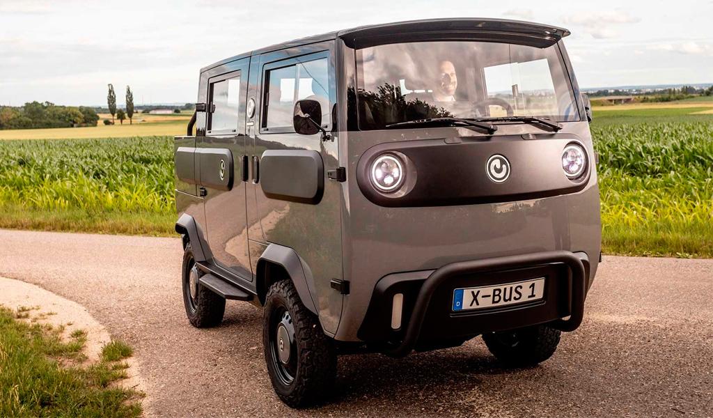 В Германии выпустили электрический аналог «Буханки» за 1,5 млн рублей