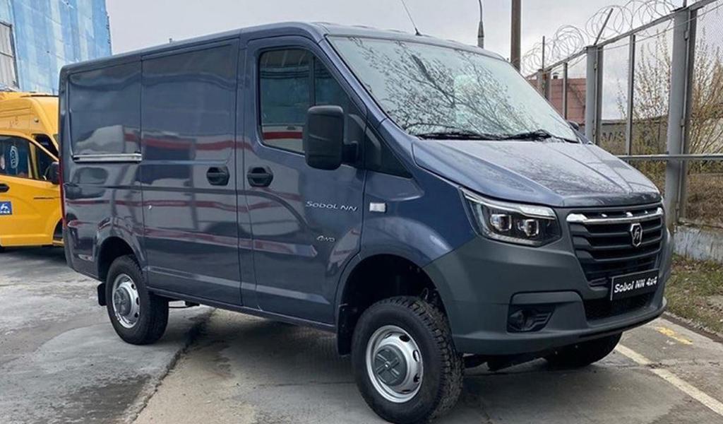 В сети рассекретили новый фургон ГАЗ «Соболь»