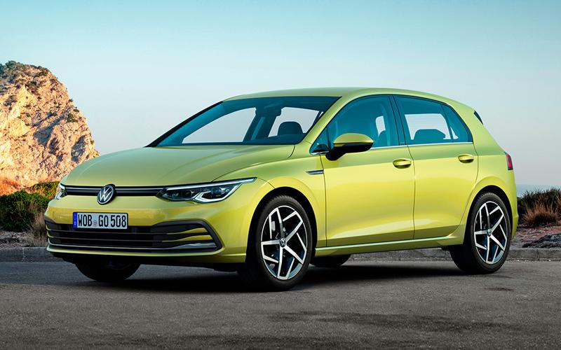 В России начались продажи нового хэтчбека Volkswagen Golf