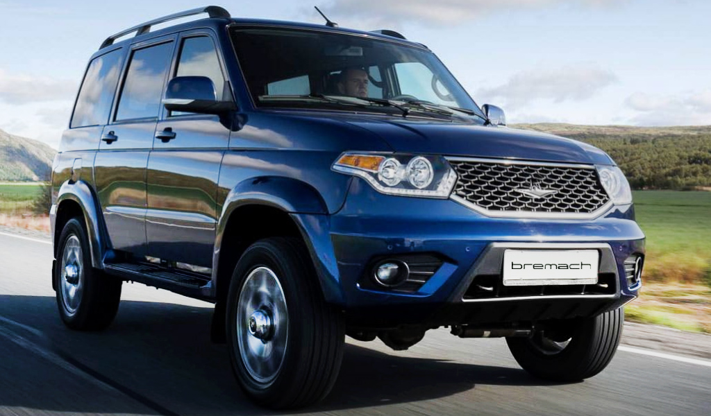 Российские внедорожники УАЗ «Патриот» будут продавать в США с новым мотором