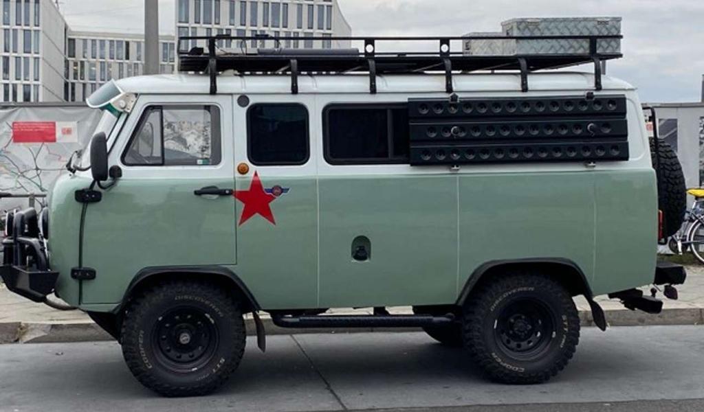 В Германии продается модернизированная УАЗ «Буханка» за 40 тысяч евро