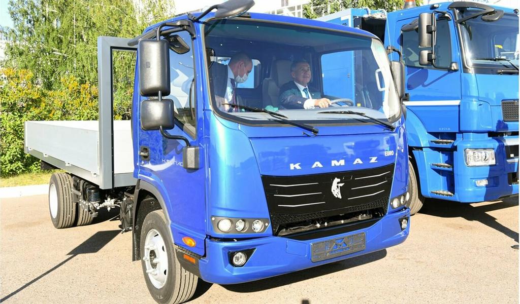 Появилось фото нового маленького грузовика от КАМАЗ