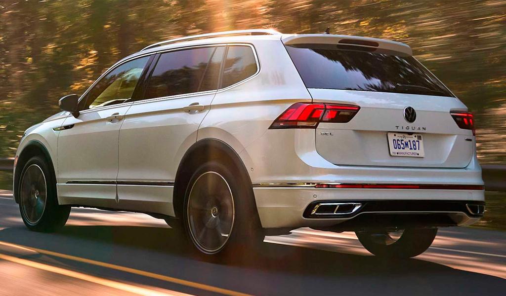 Volkswagen представил обновленный семиместный Tiguan