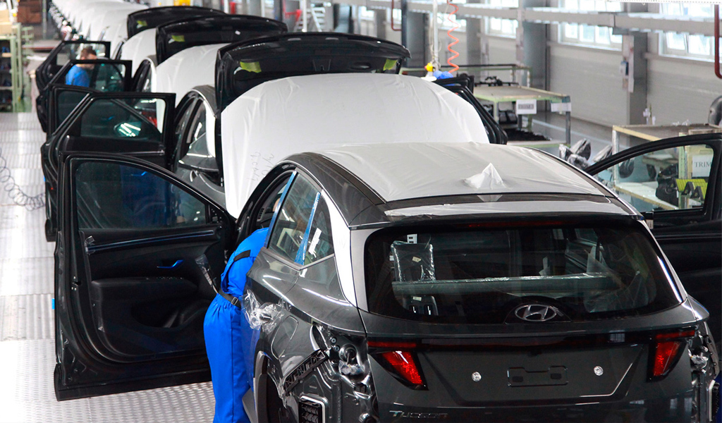 В России стартовало производство нового Hyundai Tucson