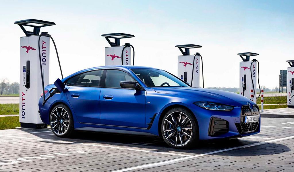 BMW рассказала об электромобиле i4