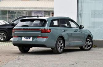 В Китае начались продажи нового универсала Baojun Valli