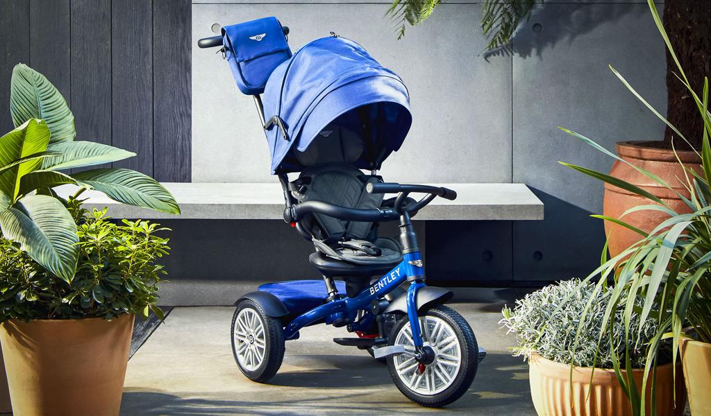 Компания Bentley выпустила детскую коляску-трансформер за 40 000 рублей