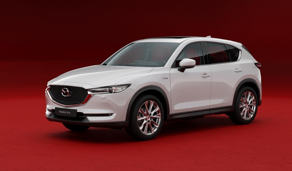 В России стартовали продажи спецверсии трех моделей Mazda