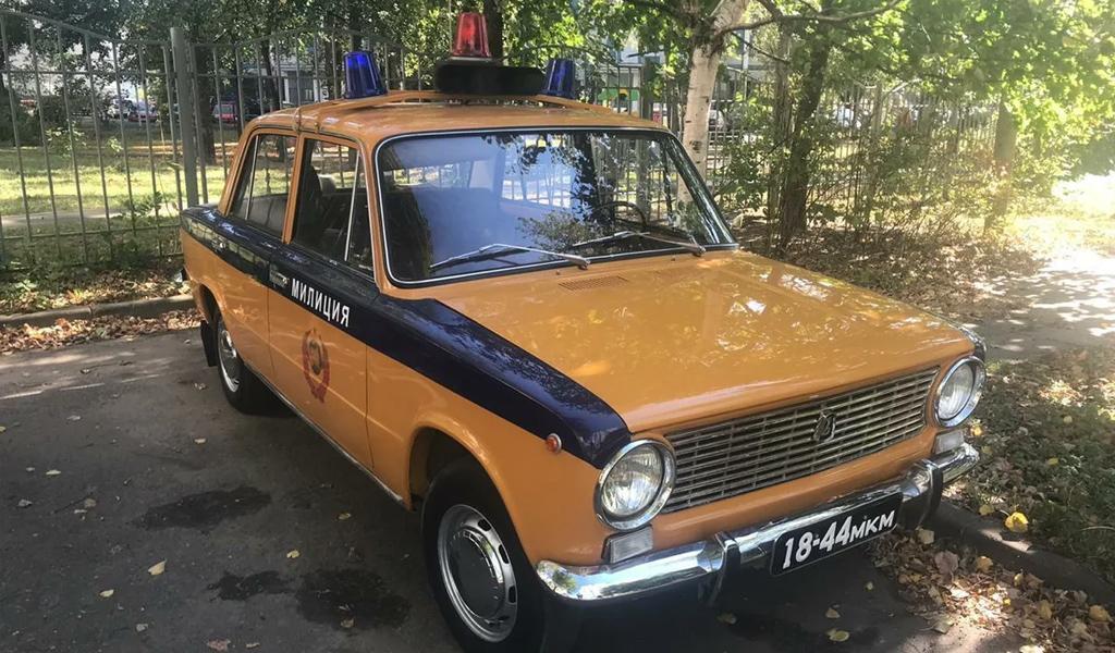 В России за 380 тысяч рублей продают «милицейский» ВАЗ-2101