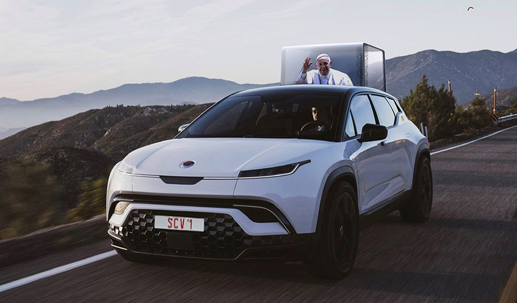 Fisker сделает электромобиль для Папы Римского